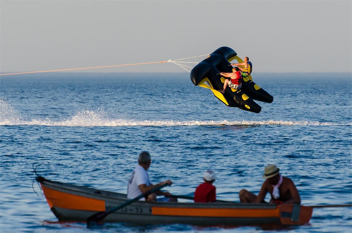 Фото: морские развлечения